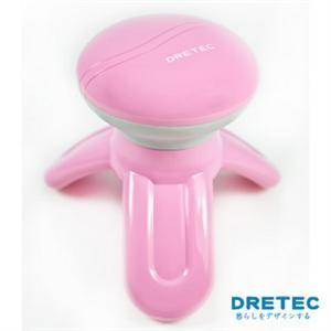 【日本DRETEC】一台三用電動按摩器-粉色