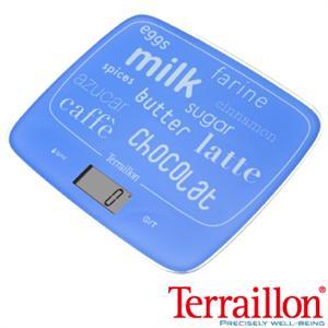 【Terraillon】法國耐壓玻璃板料理電子秤-天空藍(MY COOK 10