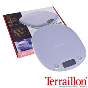 【Terraillon】法國馬卡龍造型料理電子秤-薰衣紫(Macaron)