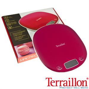 【Terraillon】法國馬卡龍造型料理電子秤-野莓紅(Macaron)