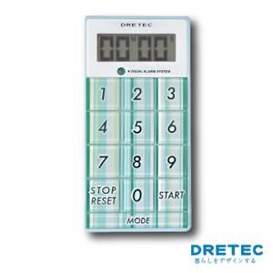 【日本DRETEC】炫彩計算型計時器-藍色