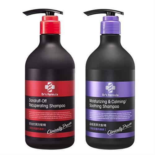 ★超值組★【台塑生醫 Dr's Formula】洗髮精580mlx2瓶 (控油抗屑/晶極潤澤任選)