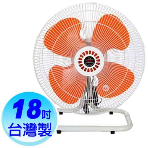 皇銘【18吋】超強風擺頭工業座扇 (A-18140)