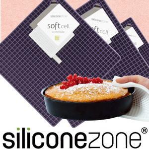 【Siliconezone 】施理康耐熱兩用防燙墊&防燙鍋墊-葡萄紫(共4色)