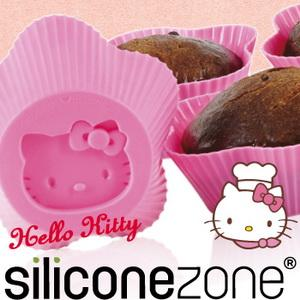 【Siliconezone 】施理康Hello Kitty杯子蛋糕模