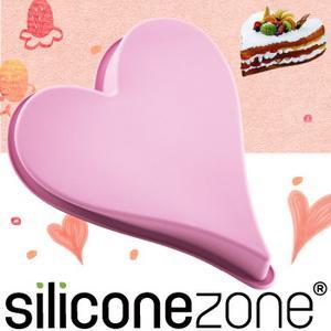 【Siliconezone 】施理康耐熱愛心造型大蛋糕模