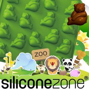 【Siliconezone 】施理康ZOO耐熱巧克力模/冰模-熊貓(共5款)