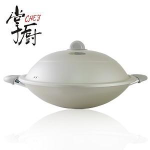 【CHEF掌廚】日本理研雙柄中華鍋_38CM