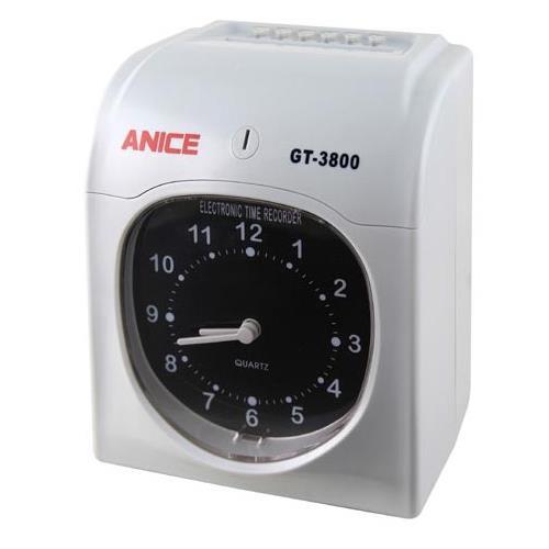 【ANICE】點陣式六欄位雙色打卡鐘(GT-3800)