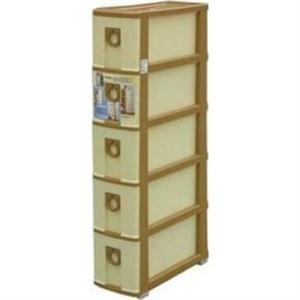 聯府 SK205 五層連環隙縫櫃 送竹炭日和除臭包 (5層櫃)
