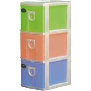 聯府 CD103小物三層收納櫃 (3層櫃) X 2