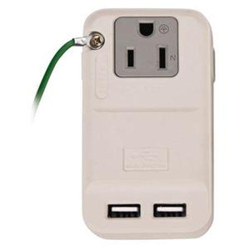 安全達人 RU-68 3P分接式插座+USB充電器