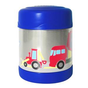 THERMOS膳魔師 【0.3L】工程車不鏽鋼真空食物罐(F3001CS6)