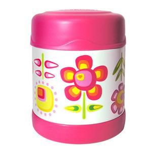 THERMOS膳魔師【300ml】小花兒不鏽鋼真空食物罐(F3001FFP6)