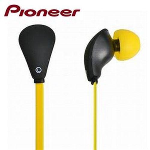 Pioneer 可通話耳道式扁線耳機CL70-Y黃色