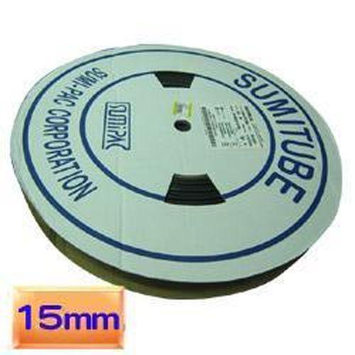 KSS熱縮套管15mm黑色 50公尺/捲