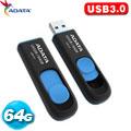 ADATA威剛 高速隨身碟 UV128 64GB 藍