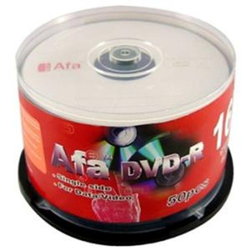 Afa 16X DVD-R片 50入布丁筒裝