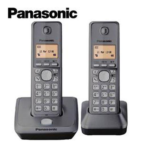 Panasonic國際牌 1.8G 數位雙手機無線電話 KX-TG2712