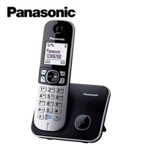 Panasonic 國際牌 1.8G中文數位節能無線電話 KX-TG6811 黑