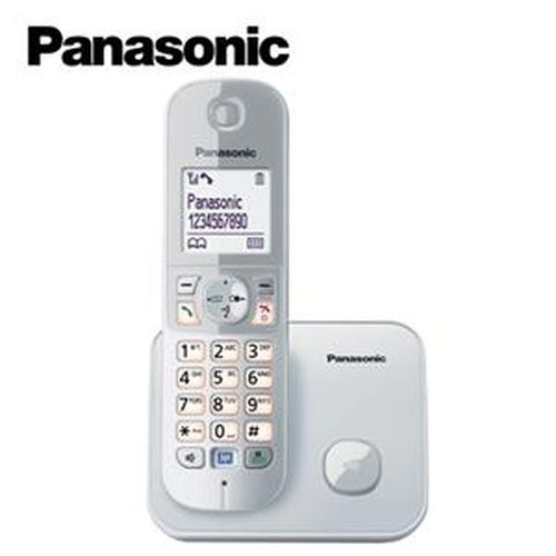 Panasonic 國際牌 KX-TG6811 1.8G中文數位節能無線電話 銀