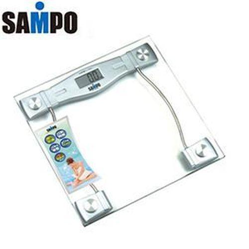 《SAMPO聲寶》造型電子體重計 (BF-L904ML)~6mm強化玻璃