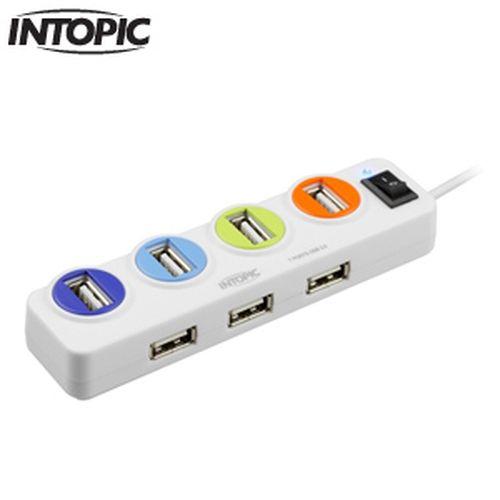INTOPIC USB2.0全方位集線器HB-26