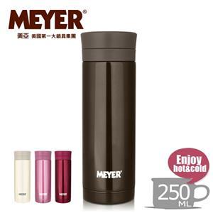 【MEYER】美國美亞炫彩超輕量隨身保溫杯250ML-可可咖