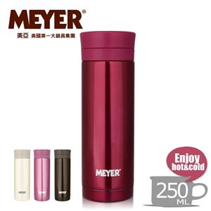 【MEYER】美國美亞炫彩超輕量隨身保溫杯250ML-野玫紅