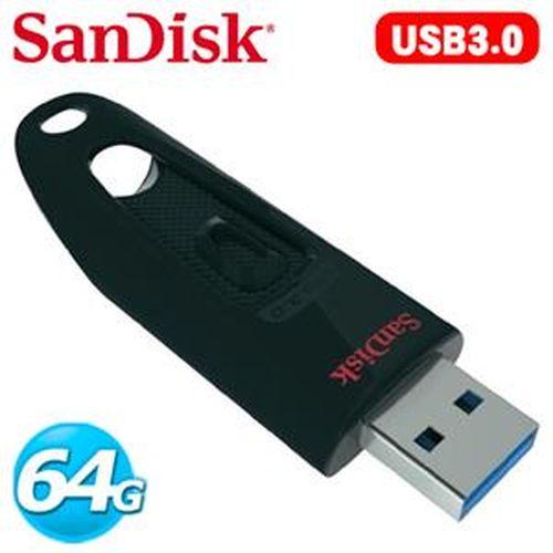 SanDisk新帝 CZ48 Ultra USB 3.0 64GB 隨身碟