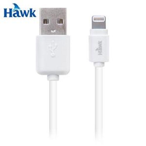 HAWK 逸盛 Lightning 對 USB 充電傳輸線 白
