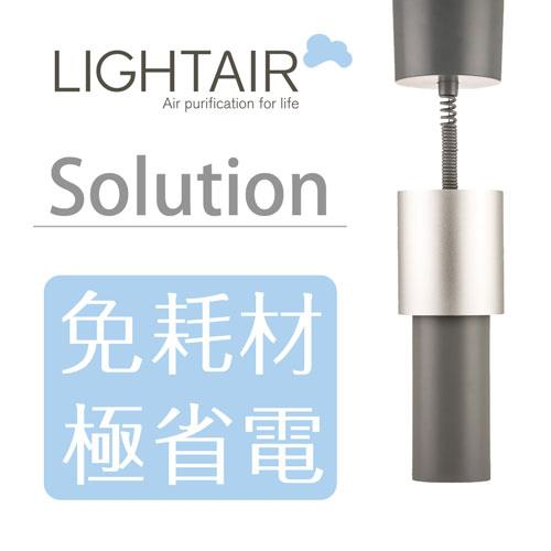 【瑞典時尚精品】 LightAir IonFlow 50 PM2.5 空氣清淨機 Solution