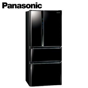 Panasonic國際牌ECO NAVI+nanoe雙科技四門冰箱 NRD618NHV光釉黑