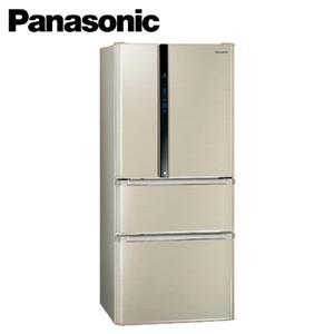 Panasonic國際牌ECO NAVI+nanoe雙科技四門冰箱 NRD618NHV香檳金