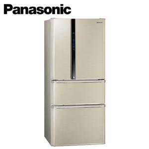Panasonic國際牌 ECO NAVI 610公升四門電冰箱 NRD618HV(L)香檳金