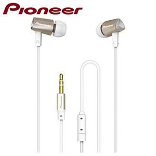 Pioneer 先鋒牌 耳道式耳機 SE-CL31-N 金