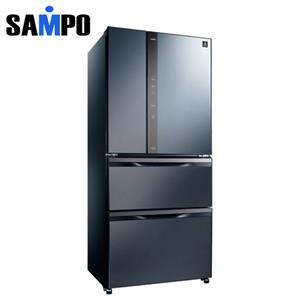 SAMPO 聲寶 560公升 1級四門變頻冰箱 SRNW56DD(B3) 尊爵藍