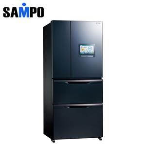 SAMPO 聲寶 560公升 1級四門變頻冰箱 SRNW56PI(B3) 尊爵藍