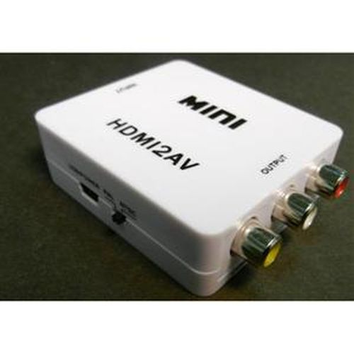 SCE HDMI轉AV訊號轉接盒 HDMI-101