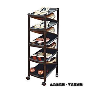 聯府 Z型九層雙面鞋架(附輪) A2009