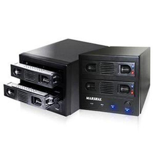 伽利略 雙層抽取式RAID硬碟外接盒 35D-U3ES2R