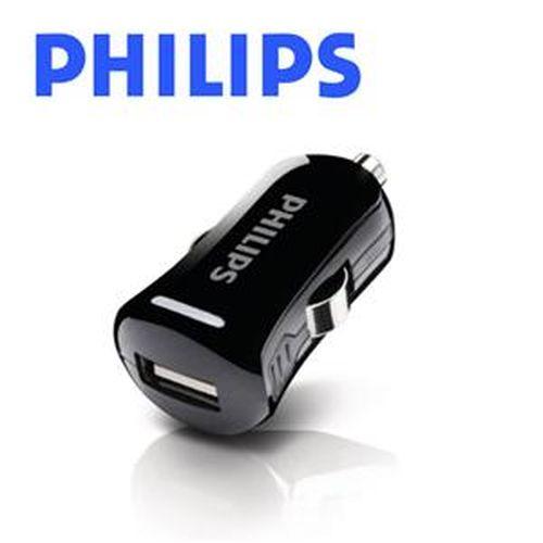 PHILIPS 飛利浦 DLP2253/10 袖珍型車充 2.1A