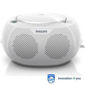 【PHILIPS飛利浦】CD手提音響(白色) AZ100W/AZ-100W