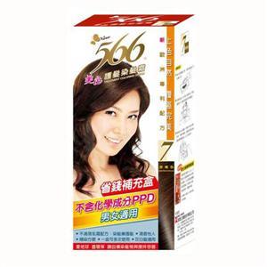 566 護髮染髮霜 補充盒7號 深褐色