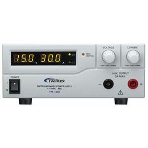 600W 開關式直流電源供應器 TPS-1530 (1-16V/0-30A)