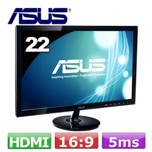 ASUS 華碩 VS229HA 22型 VA 廣視角螢幕