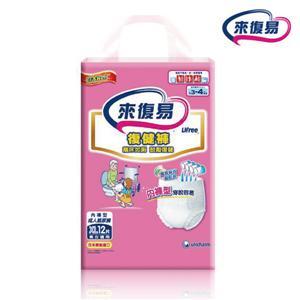 【箱購】來復易 復健褲 安養量販包_XL號 (12PX4包)/箱