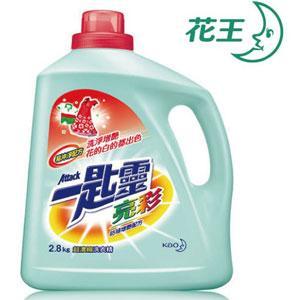 一匙靈 亮彩超濃縮洗衣精 2.8kg*4瓶/箱