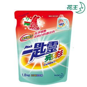 一匙靈 亮彩超濃縮洗衣精 補充包 1.8kg*6包/箱