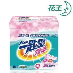一匙靈 淨柔超濃縮 洗衣粉 1.9Kg*6盒/箱